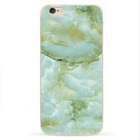 Green Marble Iphone Cases