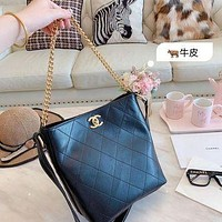 797 Fashion Embossing Chain Hobo Loose Shoulder Strap Crossbody Tote 22-24cm-2