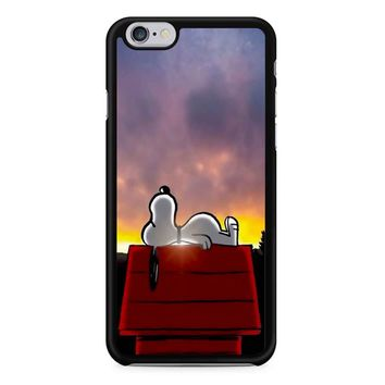 Snoopy Sunset iPhone 6/6s Case