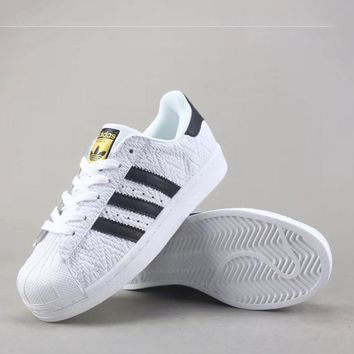 Adidas Superstar J Women Men Fashion Casual Sneakers Sport Shoes