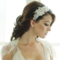 SASS B Grace Vintage Inspired Side Tiara | Bridal side tiaras, headpieces and headbands online | Free UK delivery |