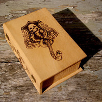 Harry Potter Magick Moste Evile spellbook by BaconFactory on Etsy