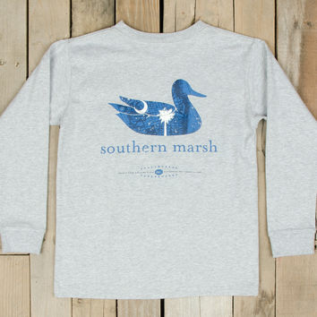 Southern Marsh Authentic Heritage Collection - South Carolina - Long Sleeve - Youth