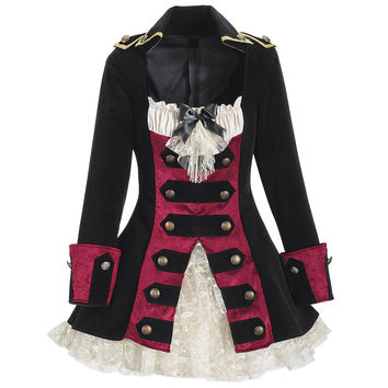 Captains Coatdress - New Age, Spiritual Gifts, Yoga, Wicca, Gothic, Reiki, Celtic, Crystal, Tarot at Pyramid Collection