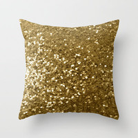 Purpurina Throw Pillow by Irène Sneddon