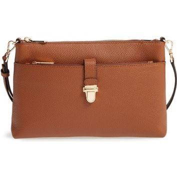 MICHAEL Michael Kors Large Mercer Leather Crossbody Bag | Nordstrom