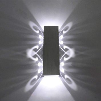 Tanbaby 2W LED Wall Sconces Light Fixture luminaire decoration for home Hall Porch Corridor Bedside Bedroom wall mounted lamp