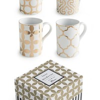 Luxe Moderne Mugs - Set of 4 - Coffee Cups - Tea Cups - Mugs - Coffee Mugs - Dinnerware - Home Decor | HomeDecorators.com
