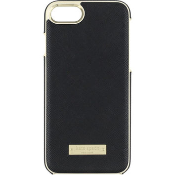 Kate Spade Wrap Case Black & Gold