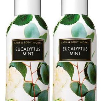 2 Bath & Body Works EUCALYPTUS MINT Room Spray 1.5 oz