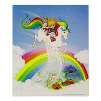 Rainbow Brite & Starlite over rainbow