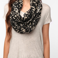 Urban Outfitters - Kimchi Blue Crosshatch Printed Eternity Scarf