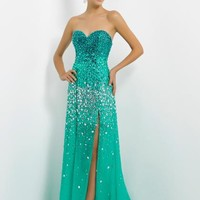 Blush 9736 at Prom Dress Shop