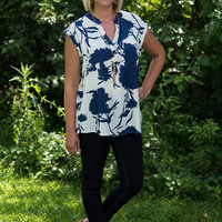 It's Simply Irresistible Floral Blouse - Blue