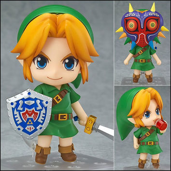 Anime The Legend of Zelda Link 553 Majora's Mask 3D Ver 10cm  Boxed Action Figure Toys