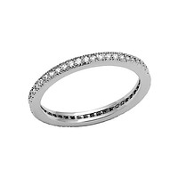 Eternal Promise - FINAL SALE Rhodium Plated CZ Ring