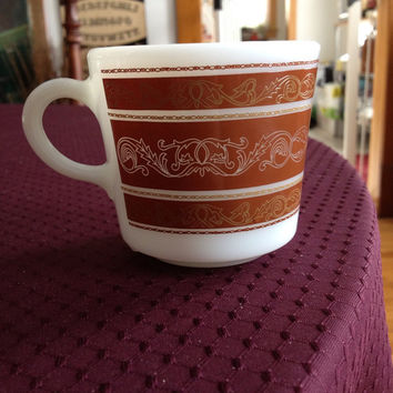 Vintage Pyrex glass Coffee Cup