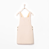 Buttons pocket pinafore
