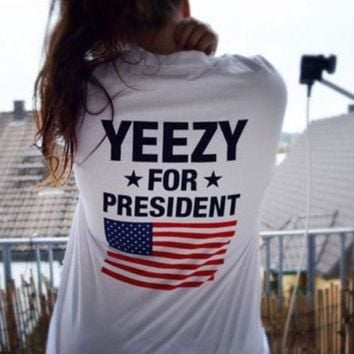 Yeezy For President Tumblr Shirt