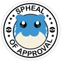 Pokemon Spheal of Approval by dschorst