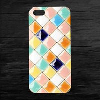 Glazed Tile Mosaic iPhone 4 and 5 Case