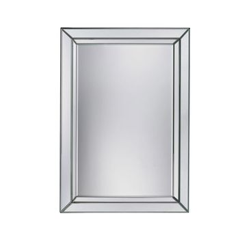 Arriba Beveled Mirror In Clear
