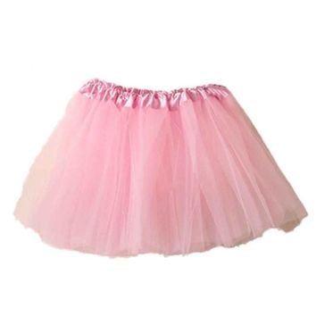 Tulle skirt Women New Arrival Feminina Ballet Tutu Layered Organza Lace Mini Skirt multiple Colour Womens skirt #LYW