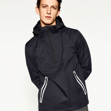 POUCH POCKET CASUAL HOODIE