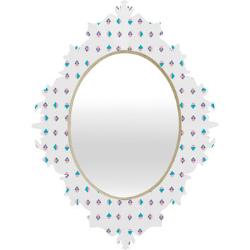 Laura Redburn Pastel Arrows Baroque Mirror