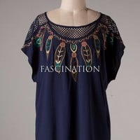 Douglas Top in Navy or White or Taupe