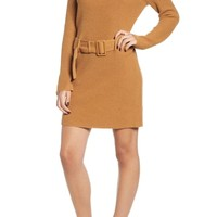 Leith Belted Sweater Dress | Nordstrom