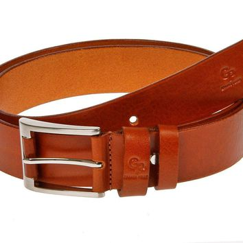 Genuine Real Superb Fashion Leather Cogna§ã Belt High Quality Buckle Herme - GP