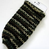 Phone Case Knit Sock Screen Protector Camoflage