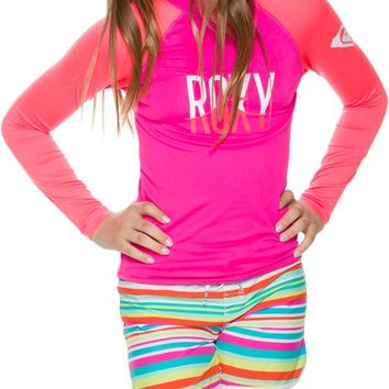 ROXY GIRLS ROXY WAVE LS RASHGUARD