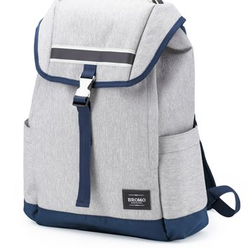 Bromo Barcelona 2 Tone  600D Polyester Water Resistant Backpack Neo Barna