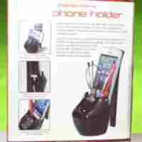 Fashion Works High Heel Cell Phone Holder - Black