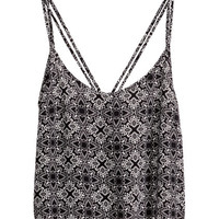 H&M - Short Top - Black/