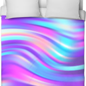 ROB Holographic Duvet Cover