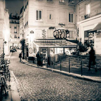 Paris France Street Near Notre Dame Fine Art Photography Print