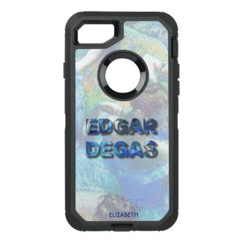 Edgar Degas French Impressionist Blue Dancers OtterBox Defender iPhone 7 Case