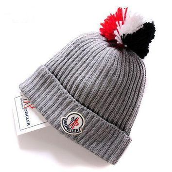 moncler new style 5 cable knit beanie