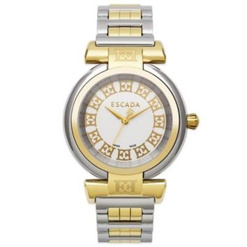 ESCADA Lauren Ladies' 34mm Dress Watch in Two-Tone Stainless Steel