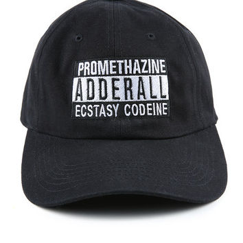 The Parental Advisory Hat in Black