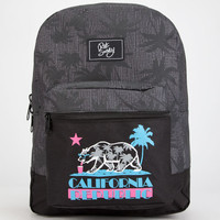 Riot Society Cali Vice 2.0 Backpack Black/Grey One Size For Men 26285012701