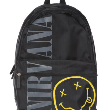 Nirvana Smiley Backpack | Hot Topic