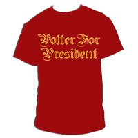Harry Potter Potter For President Screen Printed by MuggleDesigns
