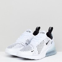 Nike Air Max 270 Trainers In White at asos.com