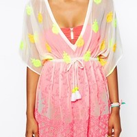 River Island Embroidered Brianna Kaftan