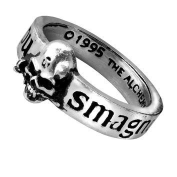 Alchemy Gohic The Great Wish Skull Ring