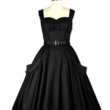 Annabelle Dress - Black by Chic Star